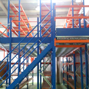 pallet rack system for warehouses