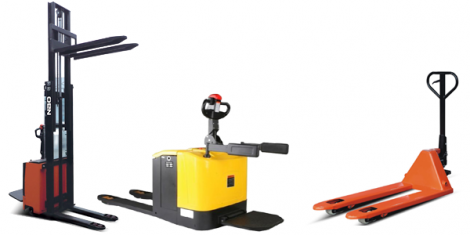 Pallet Jack, Stacker & Reach Truck